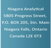 Niagara Analytical Laboratories Inc company